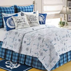 Fair Winds Quilted Bedding by C & F Enterprises | P.C. Fallon Co.
