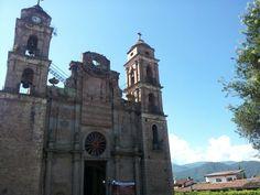 Templo de Santa María en el barrio de Santa María Ahuacatlán, muy cercano a El Manguito.