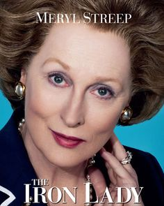 The Iron Lady, directed by Phyllida Lloyd, is a biographical British film about former British Prime Minister Margaret Thatcher, portrayed primarily by Meryl Streep. Margaret Thatcher, Love Movie, Movie Tv, 2012 Movie, Grace Gummer, Cinema Cinema, Cinema Movies, Harry Lloyd, Film Music Books