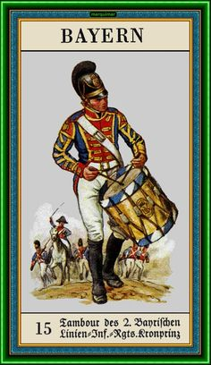 Drummer, 2nd Infantry Regiment (Krönprinz) from (Unificación de Alemania)