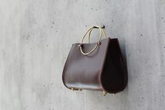 Made consciously in SF, luxe accessories and backpacks that give back to local women's organizations