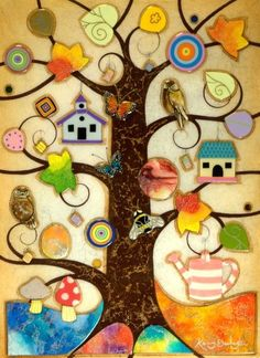 Tree Of Hamony by Kerry Darlington - Arthouse Gallery