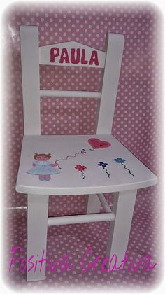 Kids Table And Chairs, Kid Table, Furniture Fix, Painted Furniture, Kids Stool, Creative, Diy, Home Decor, Chair Design