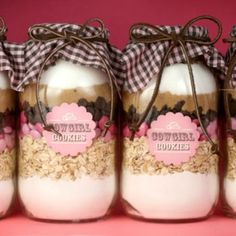 Ten Homemade Baking Mixes for Gifting!!  Everything from cookies to cake mix to beer bread mix!!  Love these!!