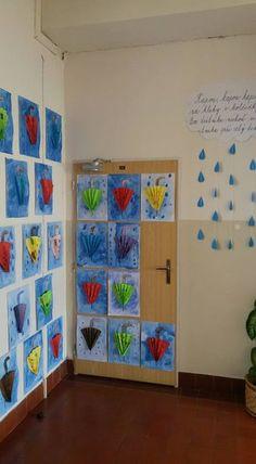 Textures on umbrella – Artofit Winter Art Projects, Projects For Kids, Diy For Kids, Crafts For Kids, Autumn Crafts, Autumn Art, Classe D'art, Snowflakes Art, Rainy Day Crafts