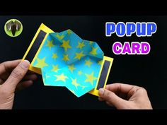 Easy POPUP Card - DIY | Scrapbook | Handmade | Tutorial - 761 - YouTube