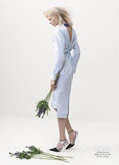 'The White Albume' Henna Lintukangas by Georges Antoni for Harper's Bazaar Australia