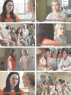 "Literally the entire prison ships them i mean - Literally the entire prison ships them i mean ""Literally the entire prison ships them i mean Info - Taylor Schilling, Orange Is The New Black, Series Movies, Tv Series, Alex And Piper, Piper Chapman, Alex Vause, Netflix, Laura Prepon"