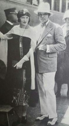 Valentino with Natacha Rambova (Winifred Hudnut)