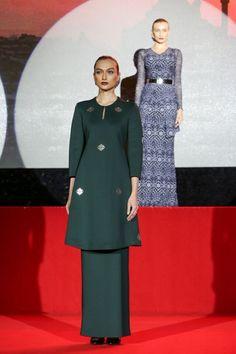 Fesyen Trend Terkini Bianco Mimosa Sphera Baju Kurung