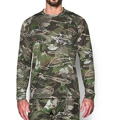 "Exclusive Ridge Reaper® camo is designed with coincidental disruption technology & an innovative ""no background"" color algorithm, blocking your prey's ability to see complete forms UA TechTM fabric has an ultra-soft, more natural feel for unrivaled comfort Moisture..."
