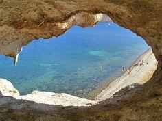 Petra Beach, Patmos #mysteriousgreece