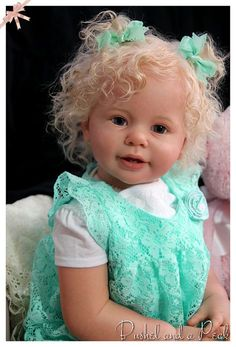 Custom Order for Reborn Katie Marie Toddler by bushelandapeckdolls Newborn Baby Dolls, Baby Girl Dolls, Child Doll, Boy Doll, Lifelike Dolls, Realistic Dolls, Reborn Toddler Girl, Reborn Babies, Beautiful Babies