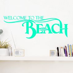 Welcome To Paradise Wall Decals Entryway Wall Wall Decals And - Wall decals entryway