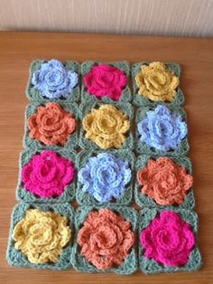 """Granny Rose Crochet-A-Long"""