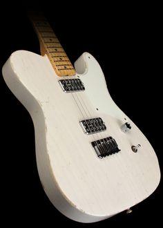 Fender Custom Shop La Cabronita - Relic - Electric Guitar - White Blonde