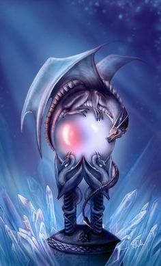 "Dragons: #Dragon ~ ""The Crystal Guardian,"" by CLB-Raveneye, at deviantART."
