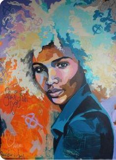 Black Girl Art, Black Women Art, Black Art, Art Girl, Illustrations, Illustration Art, Portrait Art, Portraits, Afro Art