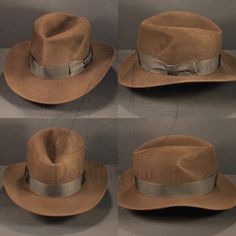 3f1ad9f4f40e97 Just finished this Indiana Jones Raiders of the Lost Ark fedora. Ribbon  from the original