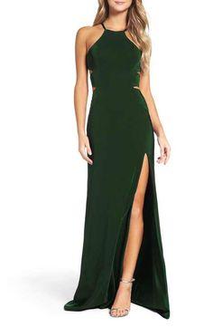 La Femme Satin Gown