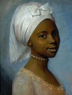 Portrait of a Young Woman, probably early 1800s, by an unknown artist (originally attributed to  Jean-Etienne Liotard (1702-1789))