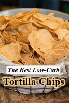 The Best Low Carb Tortilla Chips Simple Best Club - Keto Recipes Low Carb Diets, Healthy Low Carb Recipes, Low Carb Dinner Recipes, Diet Recipes, Keto Dinner, Healthy Foods, Low Carb Appetizers, Diabetic Recipes, Lunch Recipes
