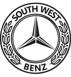 South West Benz car club logo by Abi Young - Graphic Designs https://www.facebook.com/AbiYoungGD2015