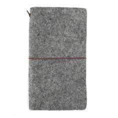 Wool Felt MiniJournal by Suoran