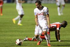 Partido de Futbol por la  Concachampions donde el Olimpia de Honduras le gano por la minima diferencia de un 1 gol al Real Esteli de Nicaragua.