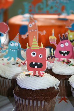 Monsters birthday party.