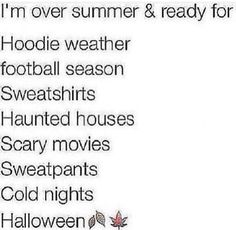 Not haunted houses and scary movies tho😂 But Football, Football Season, Funny Quotes, Funny Memes, Qoutes, Teen Posts, Lol So True, Describe Me, True Facts