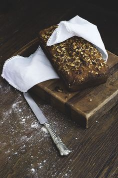(amaranth) banana bread - gnom-gnom.com - Please consider enjoying some flavorful Peruvian Chocolate. Organic and fair trade certified, it's made where the cacao is grown providing fair paying wages to women. Varieties include: Quinoa, Amaranth, Coconut, Nibs, Coffee, and flavorful dark chocolate. Available on Amazon! http://www.amazon.com/gp/product/B00725K254