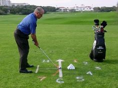 Use the image of railroad tracks to help conceptualize good alignment in the setup position.