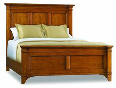 Abbott Place Natural Cherry King Size Bed