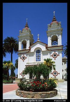 Portuguese Cathedral. San Jose, California, USA