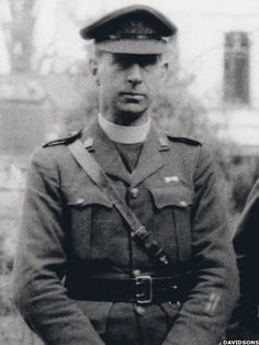"""Titanic Survivor: After he was ordained in 1915, Fr Browne was assigned as chaplain to the Irish Guards in France and Flanders for the duration of World War I. According to Fr O'Donnell: """"He was there until 1920 when he ended up as the most honoured Roman Catholic padre in the British Army having won the military cross and bar, the French Croix de Guerre and was personally handed the Belgian Croix de Guerre by the King of the Belgians – not bad for a non-combatant."""""""