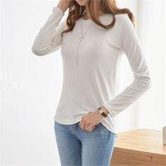 PIPPIN - Round-Neck Plain T-Shirt