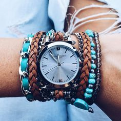 When watch met bracelets they fell in love..#saradesignnyc soon online!! #manzetti #mymanzetti #beautiful #watch #bracelets #beautiful #summer #style #fashion #her #woman #gifts #lookoftheday #ootd #rome