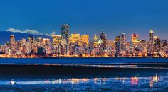 Vancouver from Spanish Banks Beach