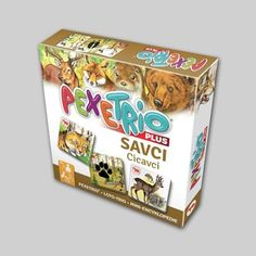 Pexetrio Plus: Savci Toy Chest, Thriller, Decorative Boxes, Toys, Games, Activity Toys, Clearance Toys, Gaming, Decorative Storage Boxes