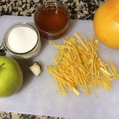 Hoy vamos a hacer una mermelada de pomelo, manzana, jengibre y miel. El ácido del pomelo con el dulzor de la miel para mi es una mezcla ideal. Sin Gluten, Carrots, Food, Gastronomia, Pickling, Sweets, Lactose Free, Honey, Lets Go
