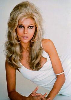 Nancy Sinatra - A pretty hair style to remember.