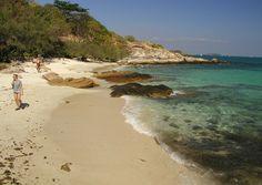Playa en la zona sur de Koh Samed
