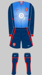 2002-2003 Arsenal Kit