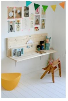 kids desk - custom size for K's room