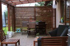 Backyard Patio Designs, Pergola Patio, Gazebo, Outdoor Spaces, Outdoor Living, Outdoor Decor, Fire Pit Patio, Back Patio, Curb Appeal