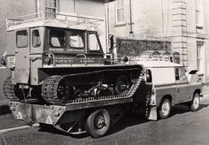 Inverness Constabulary Mountain Rescue Off-road vehicles 1974 by conner395, via Flickr