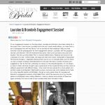 Engagement Photographer in San Diego featured on Southern Bridal blog, (619) 363-2006