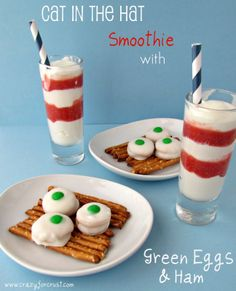 Dr. Seuss Snacks - great for a Dr. Seuss Party