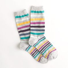 multistripe crew socks / j.crew...why do I love these so much?
